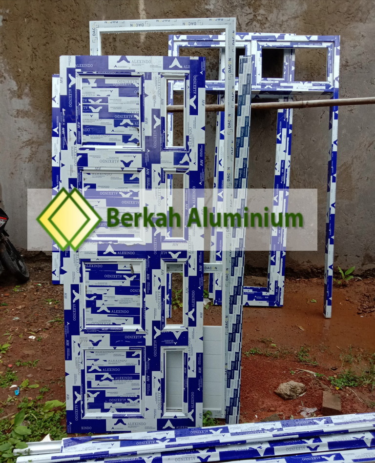 Custom Pintu Mahkota Aluminium Alexindo