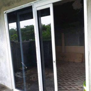 Sliding Door Aluminium / Pintu Kaca Geser Aluminium