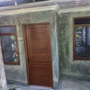 Pinti Jendela Aluminium Serat Kayu