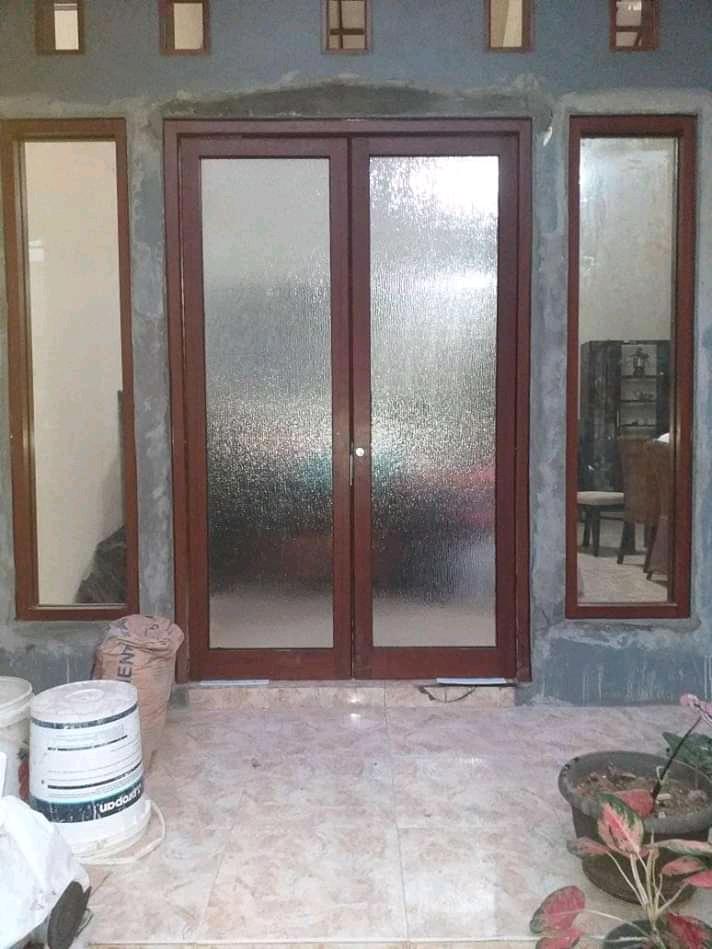 Jual Pintu Aluminium Kaca Murah