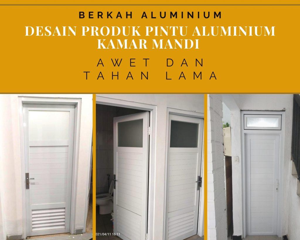 Jual Pintu Aluminium Kamar Mandi
